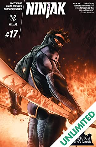 Ninjak (2015- ) #17: Digital Exclusives Edition